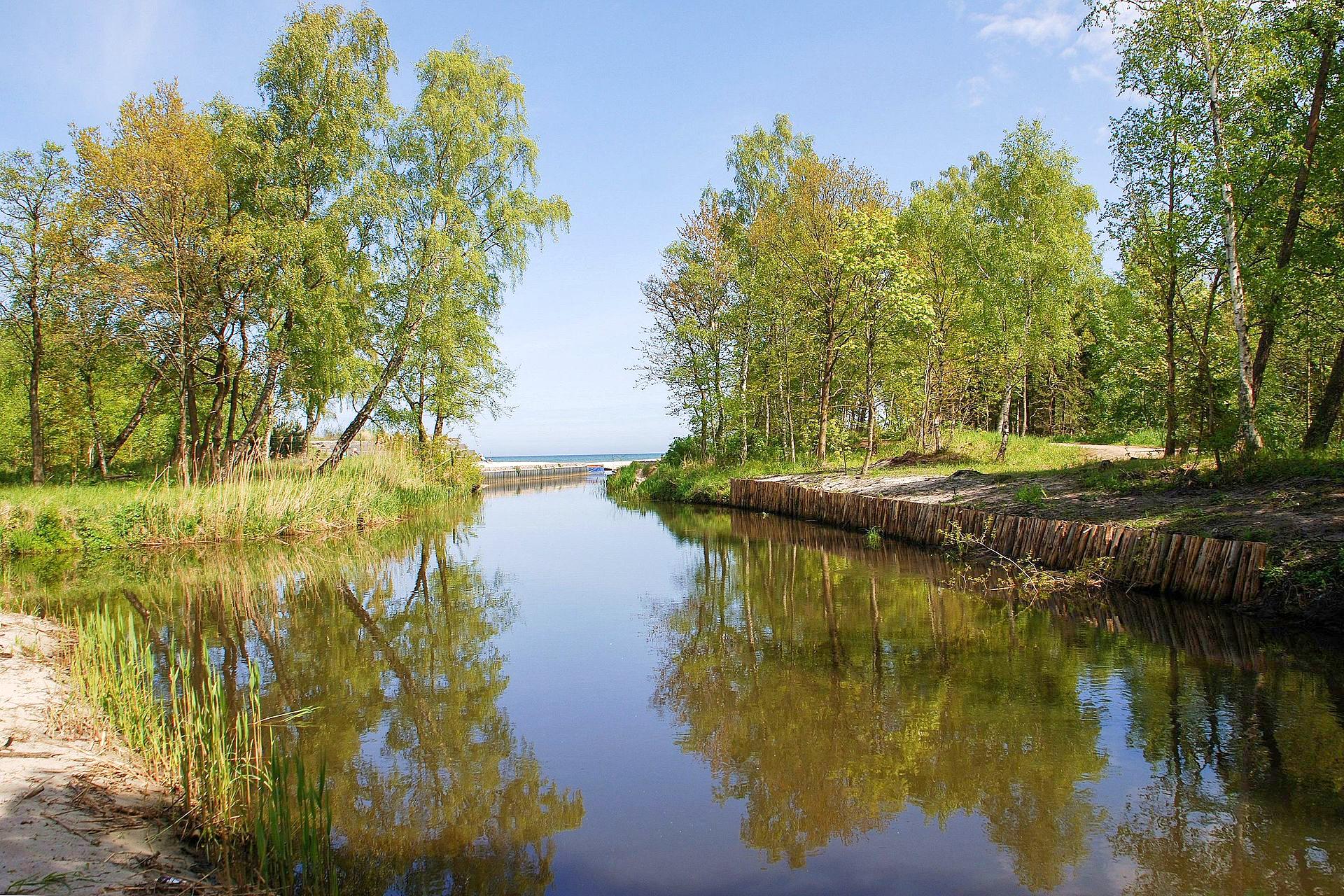Czarna Woda Ujscie Do Baltyku